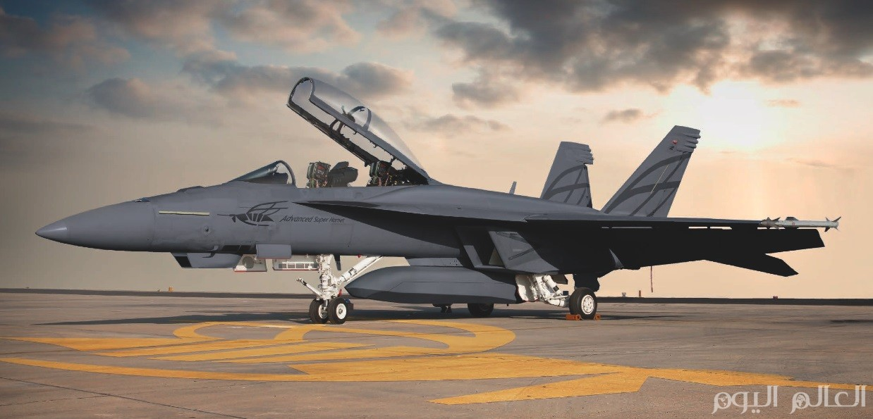 طائرات اف 18 f18 advanced super hornet